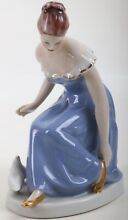 Original royal figure en porcelaine