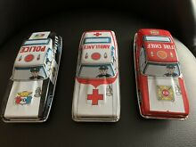1960s tin friction litho fire chief