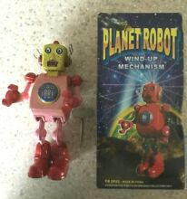 Planet tin toy wind up mechanism tr