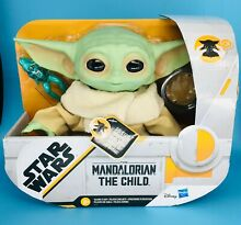 Mandalorian the child plush 7 5