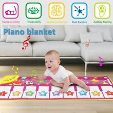 Toy play mat baby kids piano
