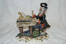 Piano player large figurine of man