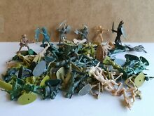 Plastic toy soldiers job lot