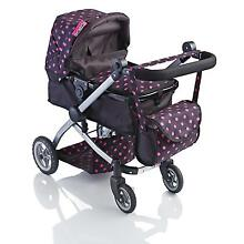 Molly dolly 2 in 1 deluxe babyboo