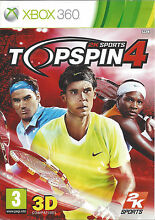Top spin 4 for xbox 360 pal