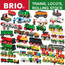 Wooden railway trains locomotives