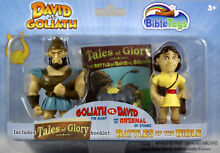 David and goliath action figures