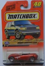 Matchbox 1999 car shows dodge