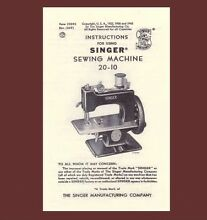 Singer 20 toy child sewhandy sewing