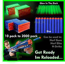 Bullets for nerf guns refill soft