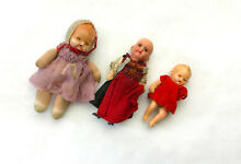 3 antike puppen doll germany museal