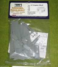 Engine shed 1 76 scale scenery kit
