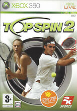 Top spin 2 for xbox 360 box manual