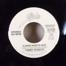 Wynette a good night s amour 7 45