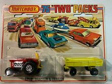 75 two packs truck and trailer