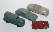 Diecast car lot gray black wheels