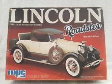 1 25 scale 1927 lincoln roadster