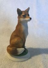 Red fox 7672 porcelain figurine