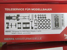 Herpa 082532 truck chassis man