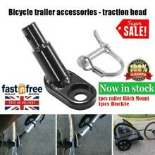 Bike bicycle trailer coupler