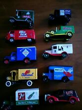 9 assorted promotional models and 1