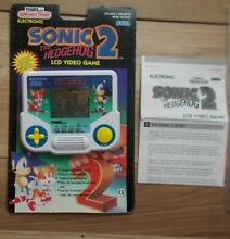 Sonic the hedgehog tiger electronic