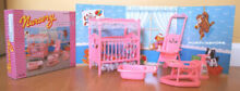 Gloria dollhouse furniture nursery