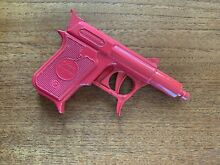 Potato metal red gun toy defender