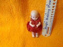 Turtle mark celluloid 3 inch doll