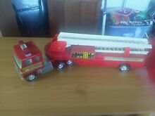 1980s articulated fire truck