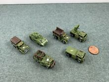 Military vehicles 6 brand used