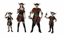 VIKING ADULT AND CHILD FANCY DRESS COSTUME HALLOWEEN BOY/GIRL