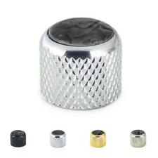 Pearlescent Dome Top Metal Control knob For Telecaster Stratocaster