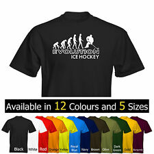 *NEW* Mens Evolution Ice Hockey T-Shirt Size & Colour Options