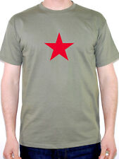 Communist Star T-Shirt - Mens Novelty T-Shirt - Various Sizes and Colours