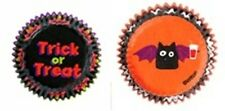 Wilton Baking Halloween Pack 100 Mini Cupcake Cases Fairy Cake Baking Cups NEW