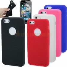 Round Pattern Silicone Skin Rubber Case Cover For New Apple iPhone 5, 5G + SP