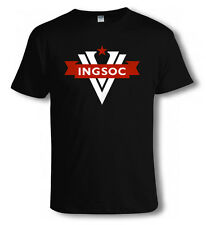 1984 BIG BROTHER George Orwell INGSOC T SHIRT, Occupy Wall St 99% Guy Fawkes V