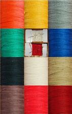 LINEN THREAD, 10 M OF POLISHED THREAD, 4/18 + 1 NEEDLE, VARIOUS COLOURS