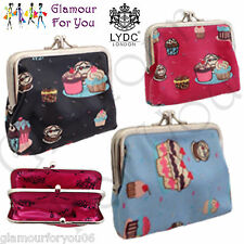 LYDC Authentic Coin Purse LYDC UK Designer Cupcake Clip Top Coin Penny Purse NEW