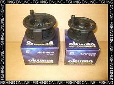 New Okuma Airframe Large Arbor Trout Fly Reel Two Sizes - 4/6 or 7/9 line weight