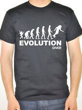 EVOLUTION DIVER - Diving / Sports / Water Themed Men's T-Shirt