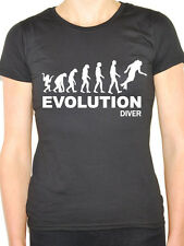 EVOLUTION DIVER - Diving / Sports / Novelty Themed Women's T-Shirt