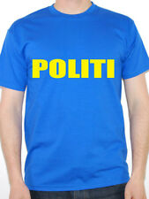 POLITI - Norwegian Police / Police / Novelty / Fun Themed Mens T-Shirt