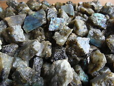 UNSEARCHED NATURAL CANADIAN LABRADORITE - 2000 CARATS - Lapidary Rock Rough Gems