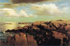 Art Print - After A Shower Nahant Massachusetts - William Stanley Haseltine 1835