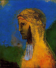 Art Photo Print - Druidesa - Redon Odilon 1840 1916