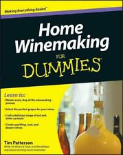 Home Winemaking For Dummies by Tim Patterson Paperback Book (English)