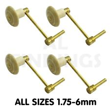 2.50mm-6mm Brass Crank key for Grandfather Longcase Clock winding tool