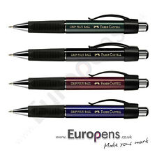 Faber Castell GRIP PLUS 1470 Ergonomic Ballpoint Ball Pen - ALL COLOURS